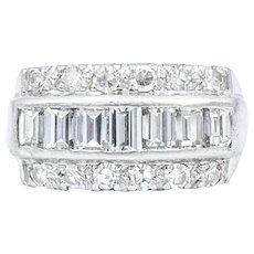 1 Carat Diamond Platinum Ring