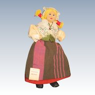 Charlotte Weibul Cloth Doll with tag