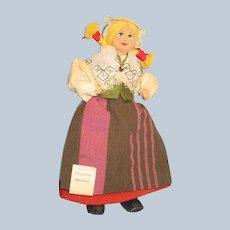 Charlotte Weibul Cloth Doll with tag