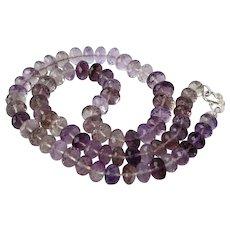 Ametrine gemstone necklace
