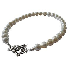 Snowball cultured freshwater pearls