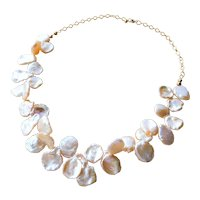 Cultured Freshwater Keishi Pearl Necklace