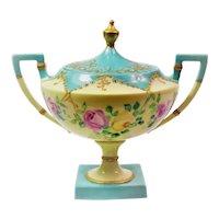American Belleek sugar bowl