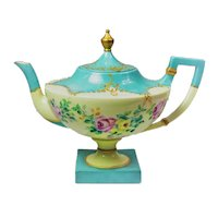 Ceramic Arts Company American Belleek tea pot