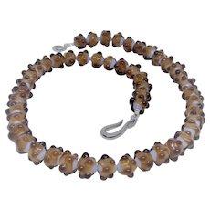 """Rare vintage """"dot"""" glass beads"""