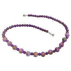 Old Japan millefiori glass beads