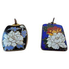 Vintage Chinese import enamel charms