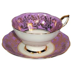 Bone china teacup and saucer from 1968