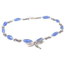 Art Nouveau style contemporary necklace