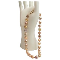 Freshwater cultured pearls from China