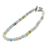 Colorful Beryl bead  necklace