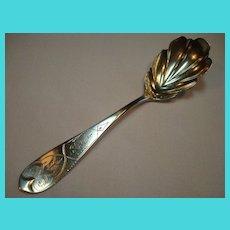 Coin Silver Sugar Spoon
