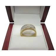 Stunning 18k gold 2.00 cttw Diamond Ring