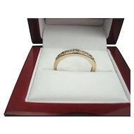 14K Gold .25 cttw Diamond Band