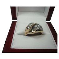 14K .35 cttw Diamond ring