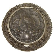 Victorian Change Purse with Greek Coin Motif