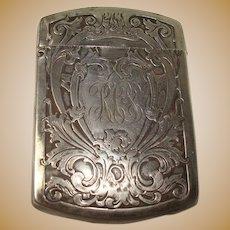 Sterling Blackinton Art Nouveau Match Safe or Vesta