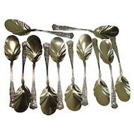 CLOSEOUT!!!   Gorham 1896 Maryland Ice Cream Spoons
