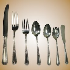 Towle 1924 Louis XIV 6 Piece Place Setting for 12 Sterling Flatware Set +Extras+Serving Pieces...147 total pieces!!