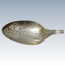 Wallace Mt Vernon Souvenir Spoon