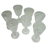 Set of 7 Waterford Ashling Cordial Glasses