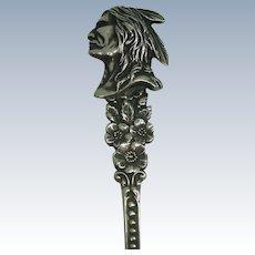 Indian Head Niagara Falls Souvenir Spoon
