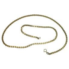 "Vermeil Marina 18"" Necklace"