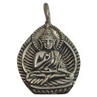Sterling Hindu God Charm or Pendant