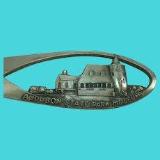 Audubon State Park Museum Henderson Kentucky Souvenir Spoon