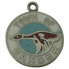 Town of Gander Enameled Charm