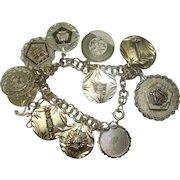 Grand Esther Order of the Evening Star Charm Bracelet