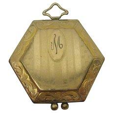 Victorian Gold Filled Octagonal Locket