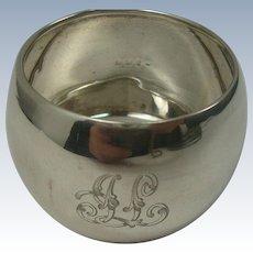 1910 James Swann Birmingham Sterling Napkin Ring
