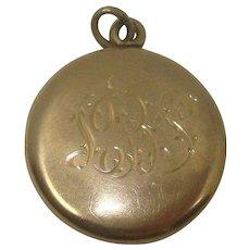 Vintage Gold Filled Locket