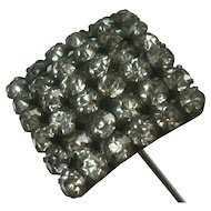 Antique Victorian Rhinestone Hat Pin