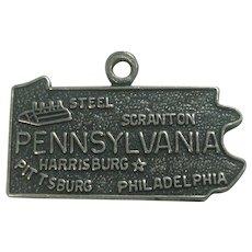 Vintage Pennsylvania State Charm