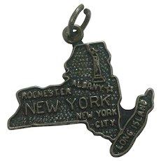 Vintage New York State Charm