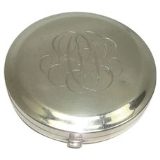 The Thomae Co Sterling Mirrored Compact