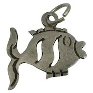 Taxco Sterling Fish Charm