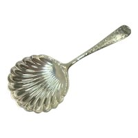 S Kirk 1850 Old Maryland Bon Bon server or Nut Scoop