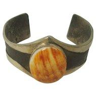 Sterling Sandcast Spiny Oyster Cuff Bracelet