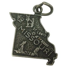 Missouri State Sterling Charm