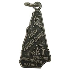 Signed New Hampshire State Charm