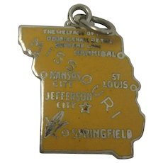 Missouri State Sterling Charm