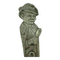 Charlie McCarthy Silverplate Souvenir Spoon