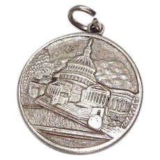 Washington DC Nations Capitol Charm - Red Tag Sale Item