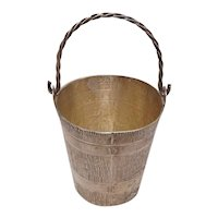 Sterling Bucket and Handle Mexico