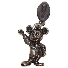 Official Mickey Mouse Disney Sterling Charm