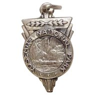 Vintage Yosemite National Park Sterling Charm