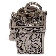 Sterling Prayer Box Charm